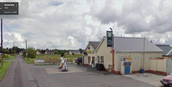 Brackens Petrol Station